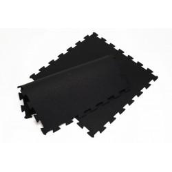 rubber puzzel tegel granulaat gecoat