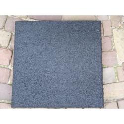 Rubber granulaat tegel 50x50 cm 2,5 cm dik