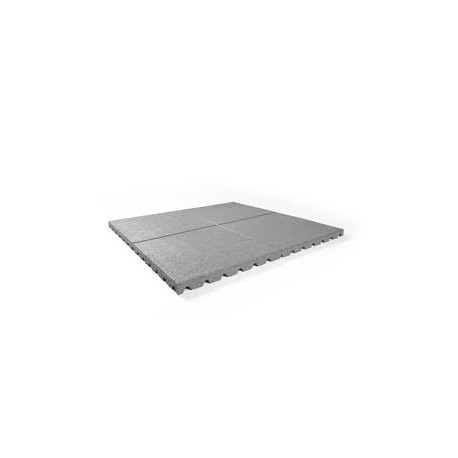 Rubber granulaat tegel 100x100 cm 2,5 cm dik