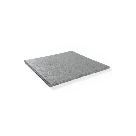 Grijs Rubber granulaat tegel 50x50 cm 2,5 cm dik