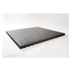 Staltegel 100x100x4cm rubber granulaat
