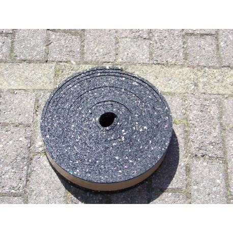 Granulaat Rubber Rol.Granulaat Rubber Strook 80 Mm X 10 Mm