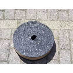 granulaat rubber strook 80 mm x 10 mm
