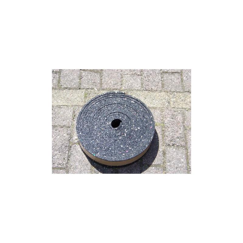 Granulaat Rubber Rol.Granulaat Rubber Strook 60 Mm X 8 Mm