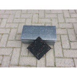 150x150x20 Rubber granulaat tegeldrager